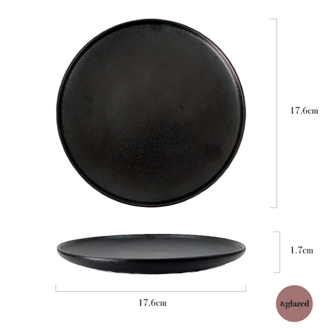 Charcoal 7-inch Medium Base Plate