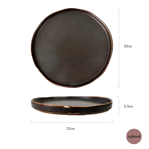 Copper 9-inch Medium Base Plate
