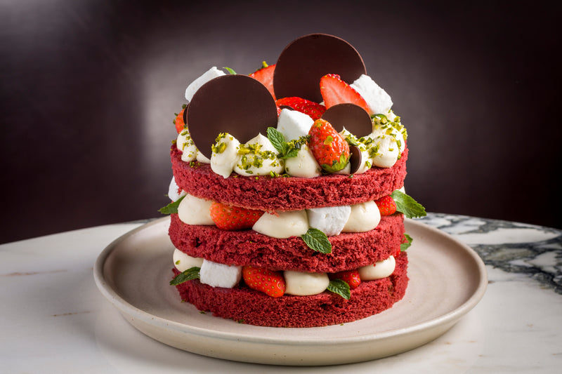 Red Velvet Sponge Layer Cake