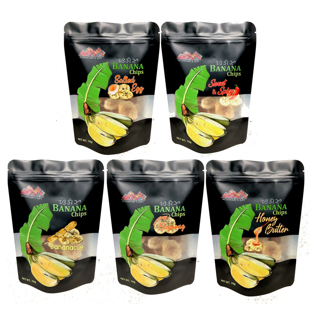 Mountain's Gift Gourmet Banana  Chips