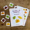 Free Activity Book - Instant Download - Thanksgiving Fall Theme