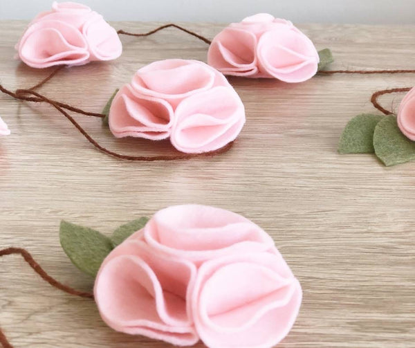 Felt Floral Garland - Maker Kit