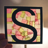 Paper 'Stained Glass' - Custom Names and Words - Maker Kit