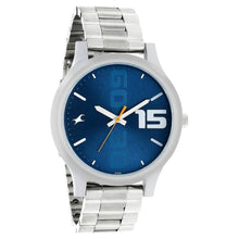Load image into Gallery viewer, Fastrack Watch for Men-Silver Chain-Blue Dial