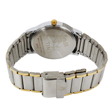 Load image into Gallery viewer, Times Gents Watch-Gold and Silver Chain-Silver Dial-01EMGTT2