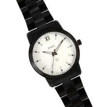 Load image into Gallery viewer, Times-Watch for Men-Black Chain-White Dial - LW01EMB1