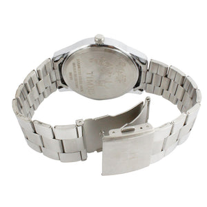 Times Mens Watch - Silver Chain-Blue Dial-01INSCH02