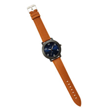 Load image into Gallery viewer, Times Watch for Men-Tan Leather Strap-Blue-01INBLS3