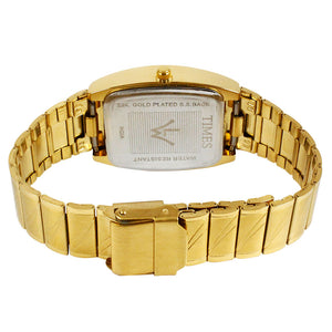 branded gold watch for men