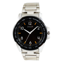 Load image into Gallery viewer, Eager Watch for Men-Silver Chain-Black Dial-GSRCH02