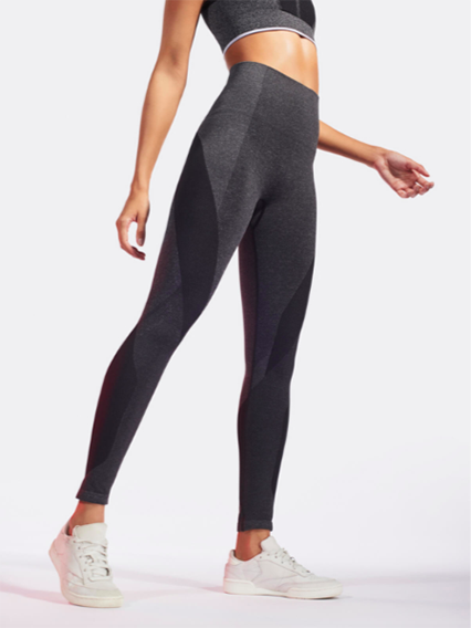 Launch Leggings in Dark Grey Marl