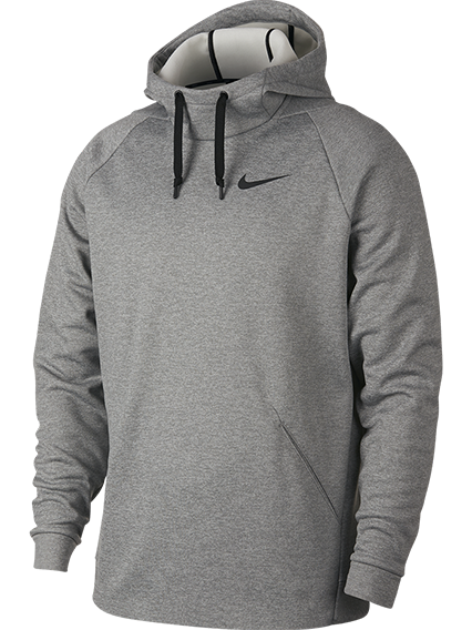 Nike Man Therma Hoody in Grey