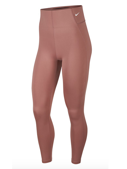 Sculpt Victory Tights in Smokey Mauve/White