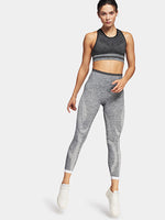 Tone 7/8 Leggings in Light Grey Marl