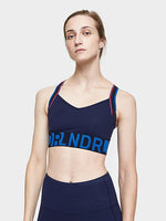 Wild Thing Sports Bra in Navy