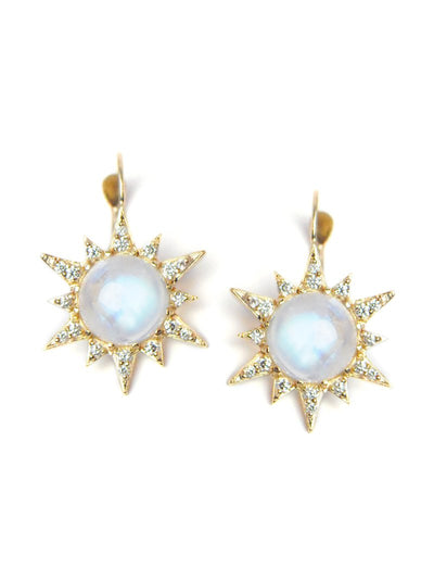 ANZIE Aztec Starburst Drop Earrings - Jackson Hole Jewelry Company