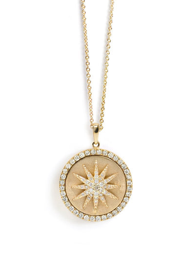 ANZIE Aztec Royale Celestial Burst Medallion Necklace - Jackson Hole Jewelry Company