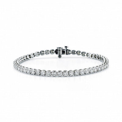 4 Prong Diamond Tennis Bracelet - Jackson Hole Jewelry Company