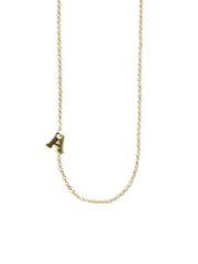 ANZIE Love Letter Single Diamond Necklace - Jackson Hole Jewelry Company