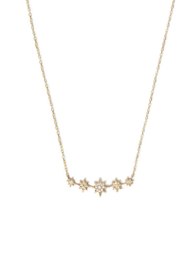 ANZIE Aztec North Star Mini Bar Necklace - Jackson Hole Jewelry Company