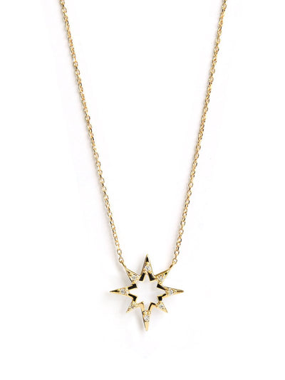 ANZIE Aztec Hollow Starburst Necklace - Jackson Hole Jewelry Company