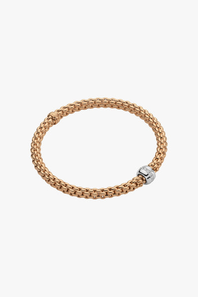 Fope Flex'it Bracelet with Diamonds - Jackson Hole Jewelry Company