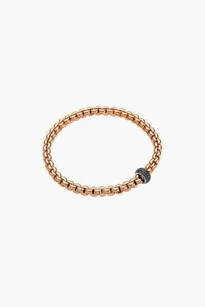 Fope Eka Flex'it Bracelet with Black Diamonds - Jackson Hole Jewelry Company