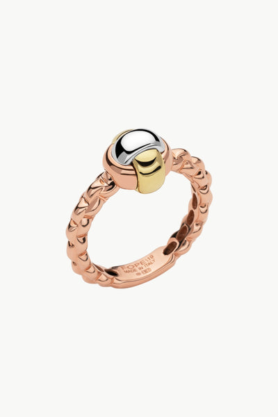 Fope Eka Tiny Gold Ring - Jackson Hole Jewelry Company