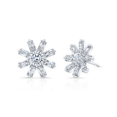 Aura Diamond Stud Earrings - Jackson Hole Jewelry Company