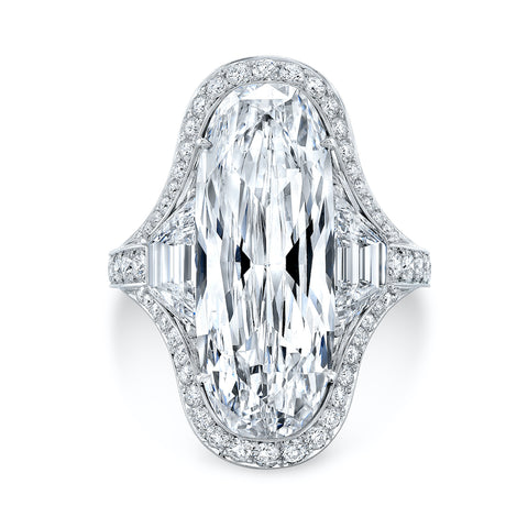 Moval 9 Carat Diamond Ring - Jackson Hole Jewelry Company