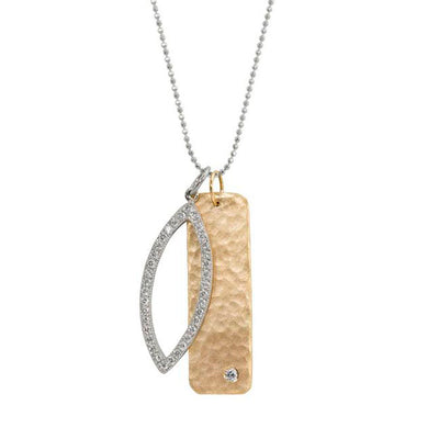 Julez Bryant 14k Medium Niki Necklace with Edie Charm - Jackson Hole Jewelry Company