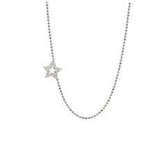 Julez Bryant 14K Gold Diamond Star Necklace - Jackson Hole Jewelry Company