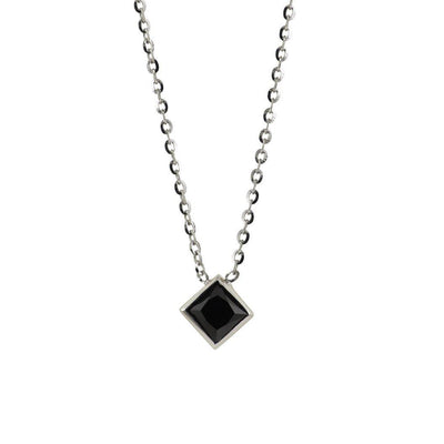 Black Diamond Ski Necklace - Jackson Hole Jewelry Company