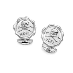 D&F Sterling Silver D&F1 Cufflinks