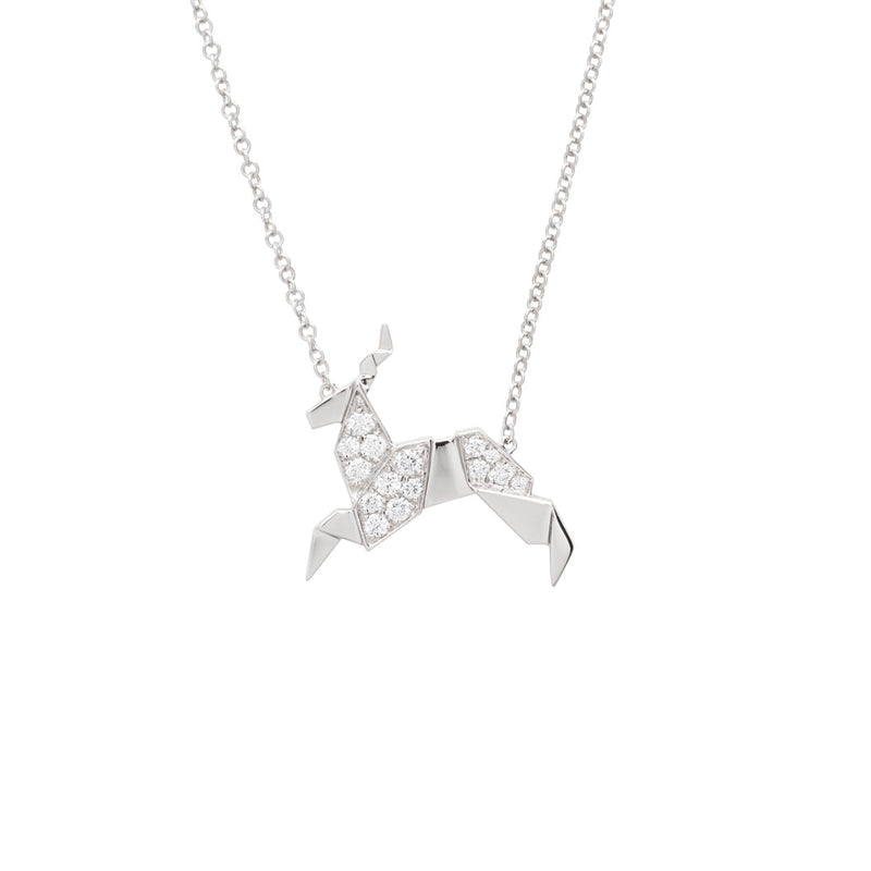 Tiny Teton Collection Elk Antler Necklace - Jackson Hole Jewelry Company  - 5