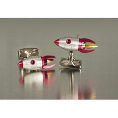 D&F Rocket Cufflinks Made From Base Metal. - Jackson Hole Jewelry Company