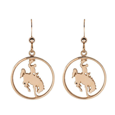 Jackson Hole Bronco Cutout Earrings - Jackson Hole Jewelry Company