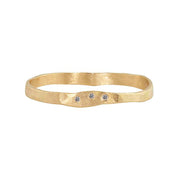Julez Bryant 14k Yellow Gold Prim Stacker Ring - Jackson Hole Jewelry Company