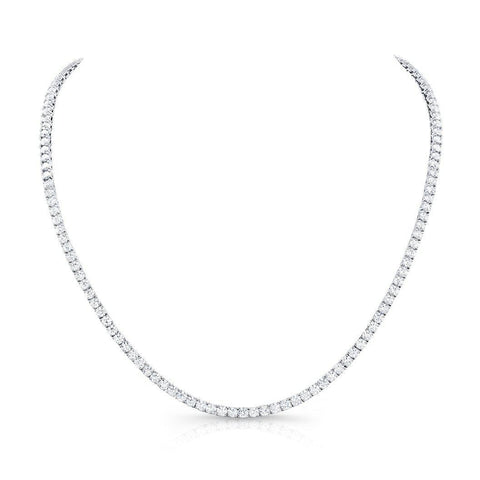 "Rahaminov 18"" Diamond Opera Necklace 28 Carat - Jackson Hole Jewelry Company"