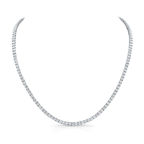 "Rahaminov 18 "" Opera Diamond Necklace 13 Carat - Jackson Hole Jewelry Company"