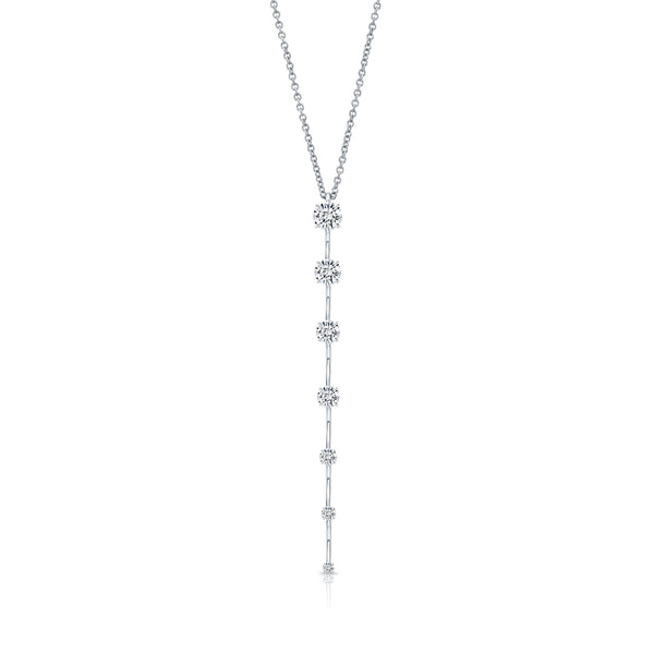 Rahaminov Diamond Bar Pendant