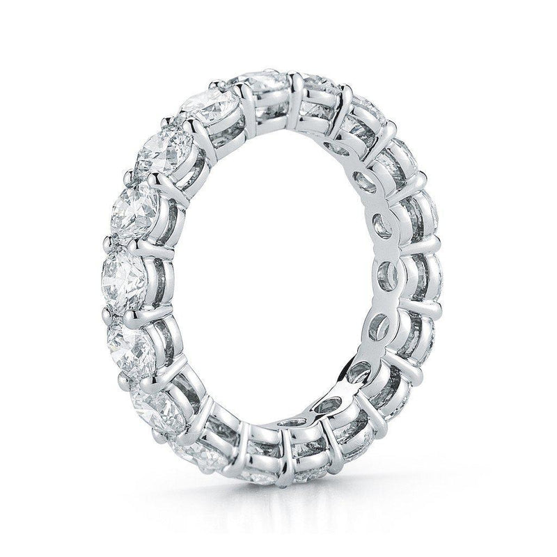 Round Brilliant Diamond Eternity Band - Jackson Hole Jewelry Company  - 2