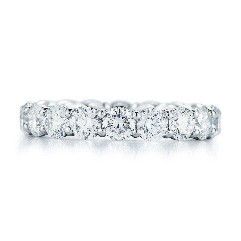 Round Brilliant Diamond Eternity Band - Jackson Hole Jewelry Company  - 1