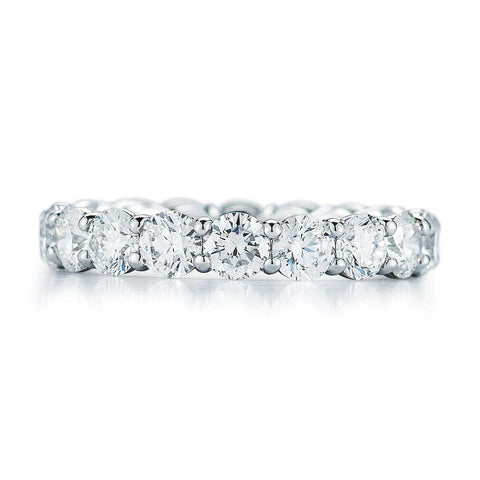 Round Brilliant Diamond Eternity Band - Jackson Hole Jewelry Company
