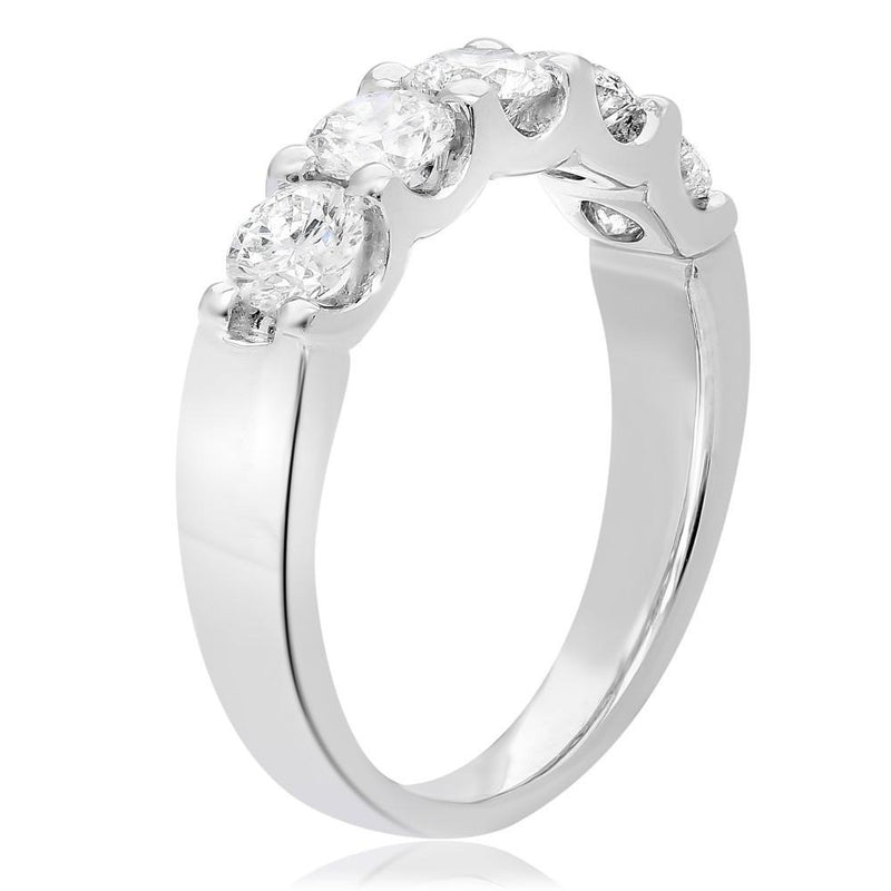 Round Cut Diamond Band - Jackson Hole Jewelry Company  - 2