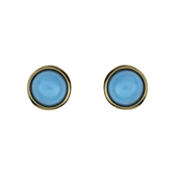 Sleeping Beauty Tiny Turquoise Studs