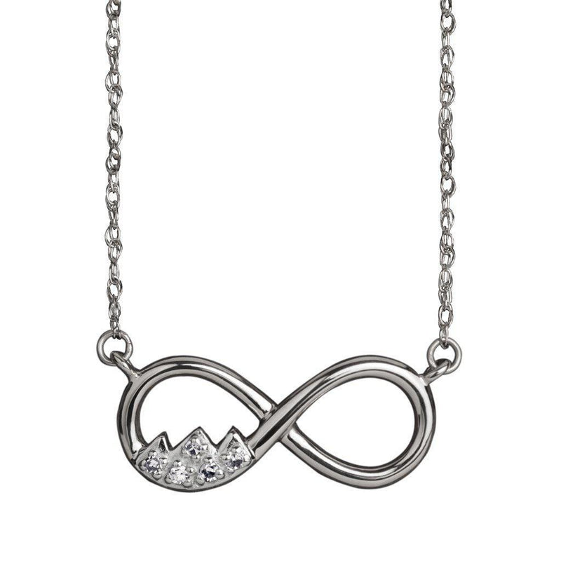 Teton Infinity Necklace - Jackson Hole Jewelry Company  - 2