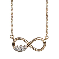 Teton Infinity Necklace - Jackson Hole Jewelry Company  - 1
