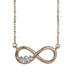 Teton Infinity Necklace - Jackson Hole Jewelry Company