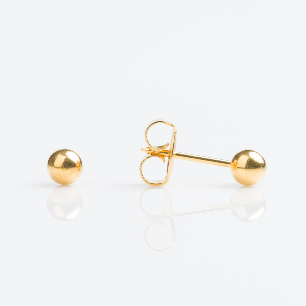Ball Grande 14K Amarillo